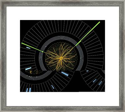 Higgs Boson Research, Cms Detector Framed Print by Science Photo Library