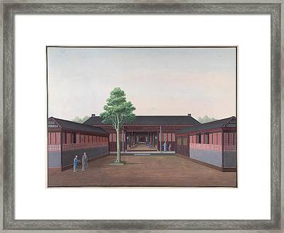 Honam Temple Framed Print by British Library
