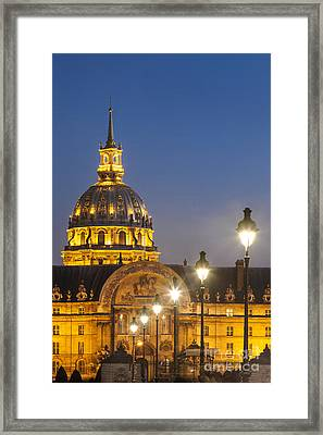 Hotel Les Invalides Framed Print by Brian Jannsen