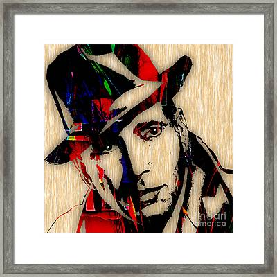 Humphrey Bogart Collection Framed Print by Marvin Blaine
