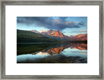 Idaho, Sawtooth National Recreation Framed Print