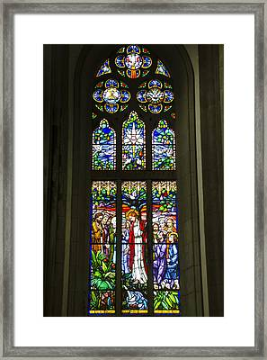 Igreja Luterana Of Petropolis- Brazil Framed Print by Jon Berghoff