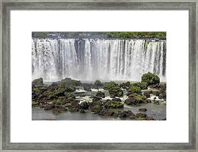 Iguazu Falls Framed Print by Alfred Pasieka