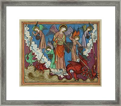 Image From St John's Apocalypse Framed Print