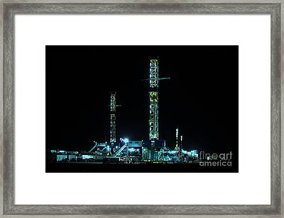 4 In The Hole Framed Print by Jim McCain