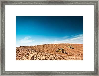Dia001-60 Framed Print by Cooper Ross