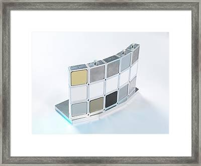 Instrumentation Measurement Standard Framed Print