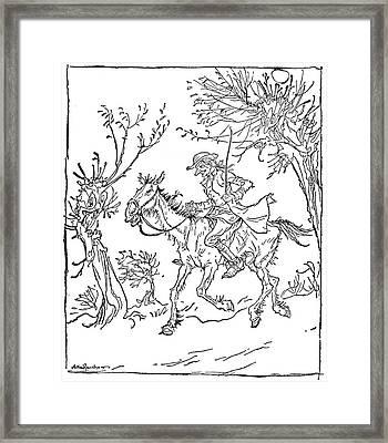 Irving Sleepy Hollow Framed Print