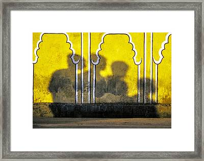 4 Is Company Framed Print