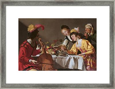Italy, Lazio, Rome, Borghese Gallery Framed Print by Everett