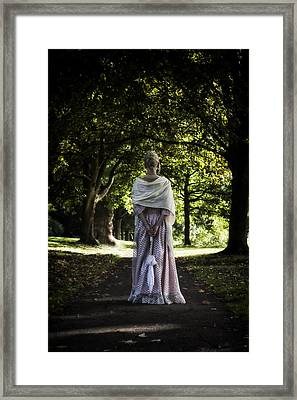 Jane Austen Framed Print by Joana Kruse