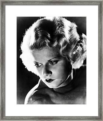 Jean Harlow Framed Print