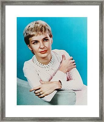 Joanne Woodward Framed Print by Silver Screen