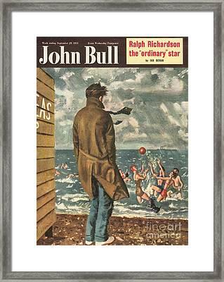 John Bull 1950s Uk Holidays Seasons Framed Print by The Advertising Archives