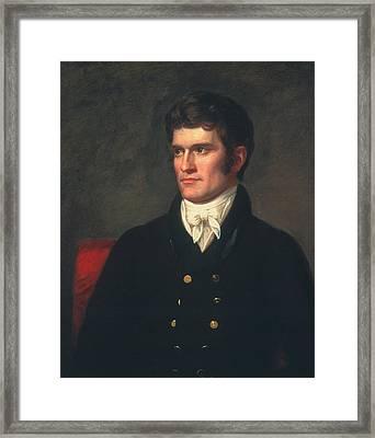 John C Framed Print