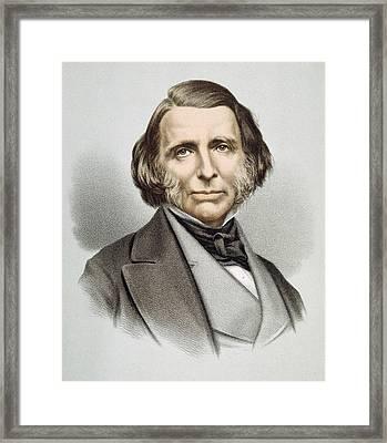 John Ruskin (1819-1900) Framed Print
