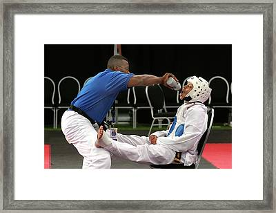 Junior Olympics Framed Print by Jim West