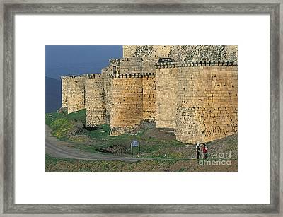 Krak Des Chevaliers, Syria Framed Print by Adam Sylvester