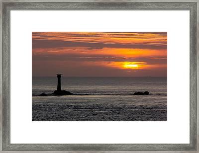 Lands End Framed Print by Ollie Taylor