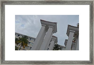 Landscape In Puerto Rico Framed Print