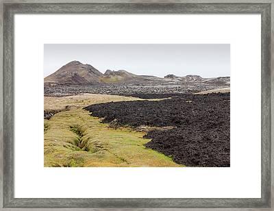 Lava Flow Framed Print by Ashley Cooper