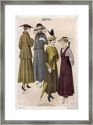 Le Costume Royal 1915 1910s Usa  Cc Framed Print by The Advertising Archives