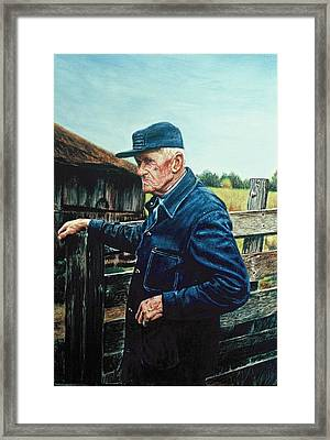 Lee Of Hartland Framed Print by James Welch