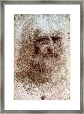 Leonardo Da Vinci (1452-1519) Framed Print by Granger