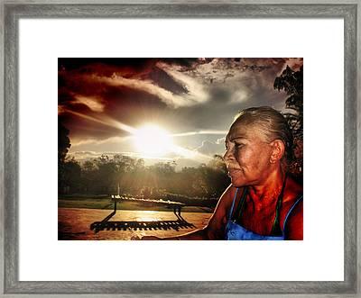 Life Framed Print by Beto Machado
