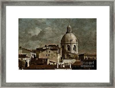 Lisbon Framed Print by Dariusz Gudowicz