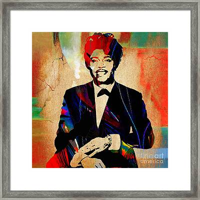 Little Richard Collection Framed Print by Marvin Blaine