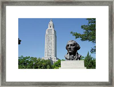 Louisiana, Baton Rouge Framed Print