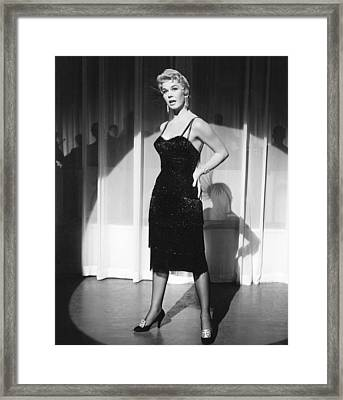 Love Me Or Leave Me, Doris Day, 1955 Framed Print