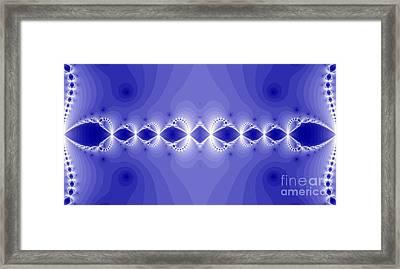 Magical Fractal Framed Print