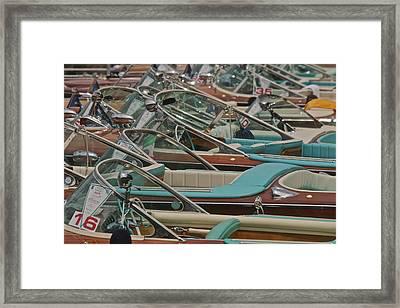 Magnificent Mahogany Framed Print