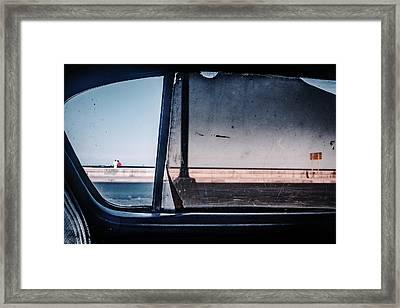 Malecon Framed Print