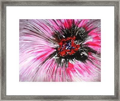 Mannflowers Framed Print by Baljit Chadha