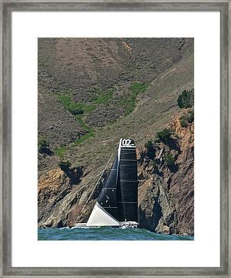 Marin Headlands Framed Print by Steven Lapkin