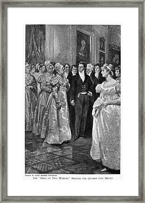 Marquis De Lafayette (1757-1834) Framed Print
