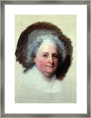 Martha Washington (1731-1802) Framed Print