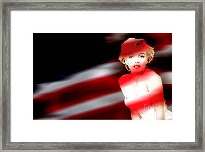 Marylin Monroe Framed Print