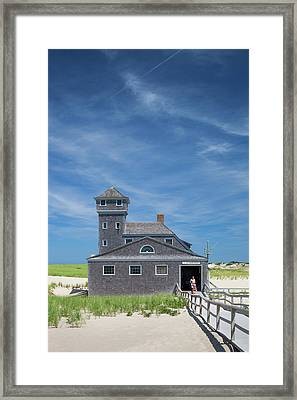 Massachusetts, Cape Cod, Provincetown Framed Print by Walter Bibikow