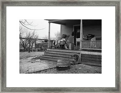 Massachusetts Flood, 1936 Framed Print