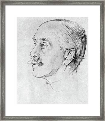 Max Beerbohm (1872-1956) Framed Print by Granger