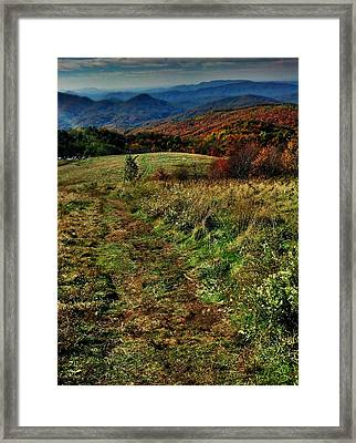 Max Patch Framed Print