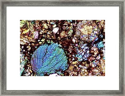 Meteorite Sau 001 Framed Print by Alfred Pasieka
