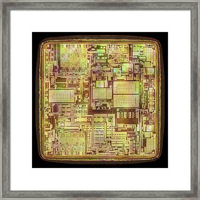 Microchip Framed Print by Ktsdesign