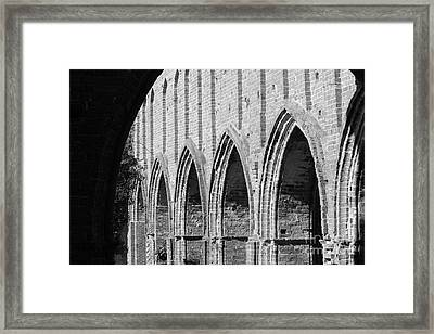 Monastery Ruins Framed Print by Four Hands Art