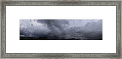 Montana Skies Framed Print by Yvette Pichette