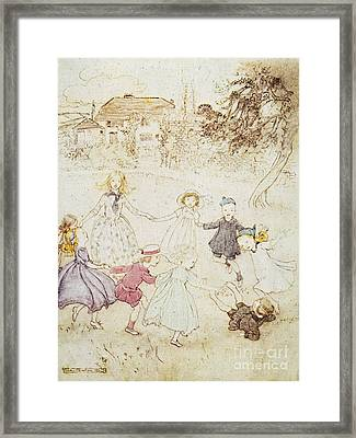 Mother Goose, 1913 Framed Print